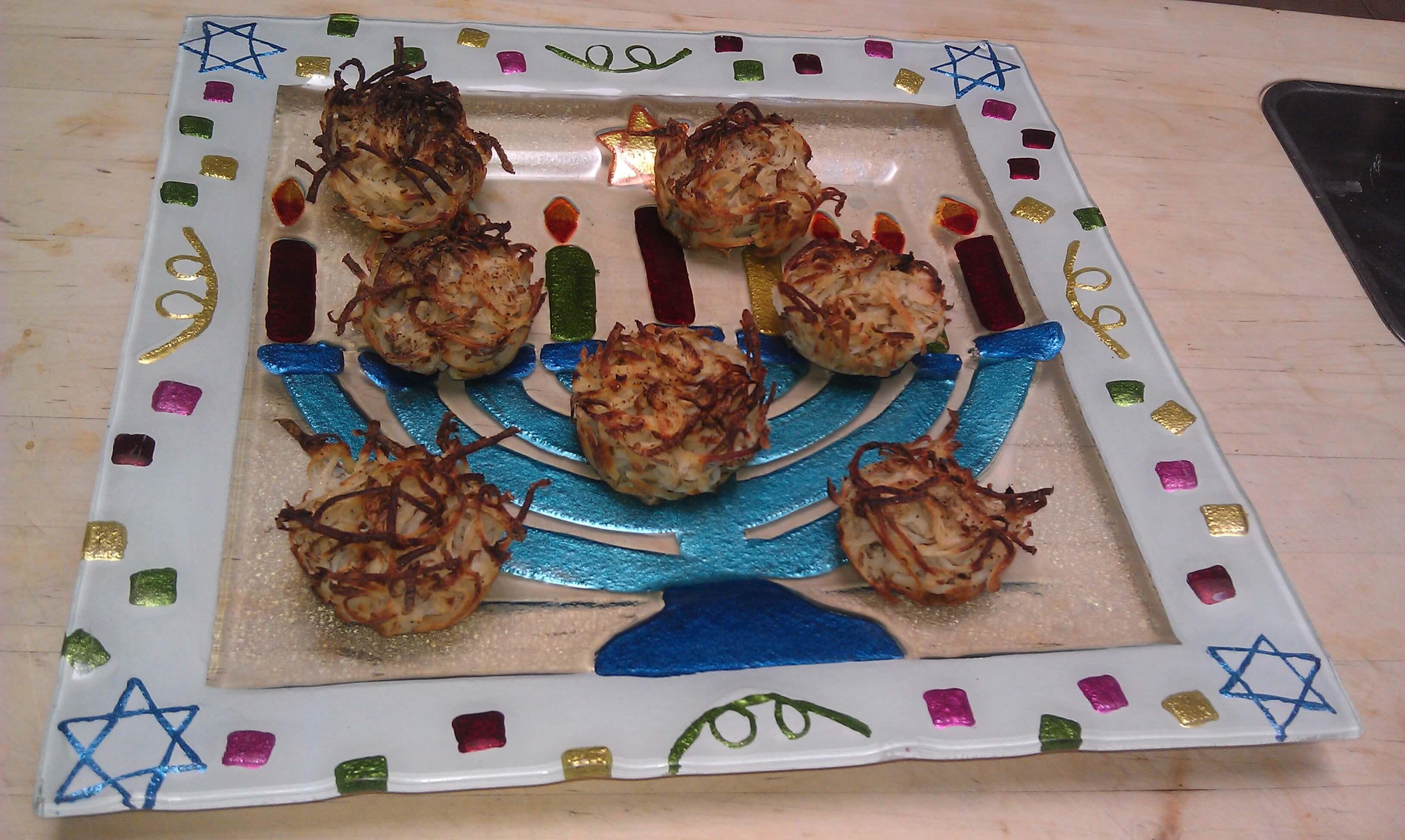 Potato Latke Muffins