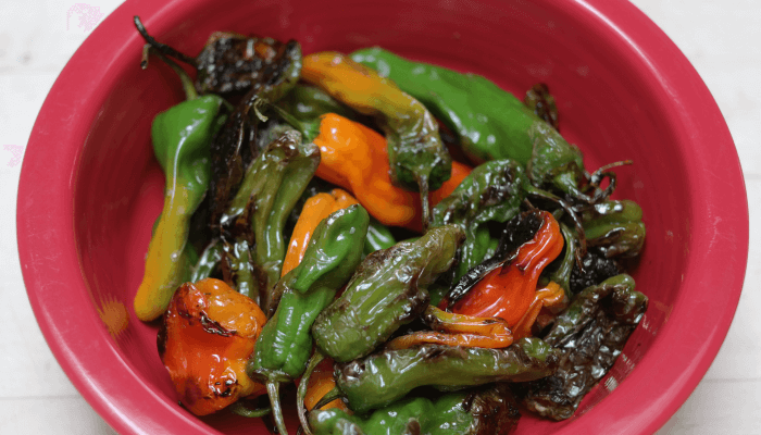 Plated Peppers