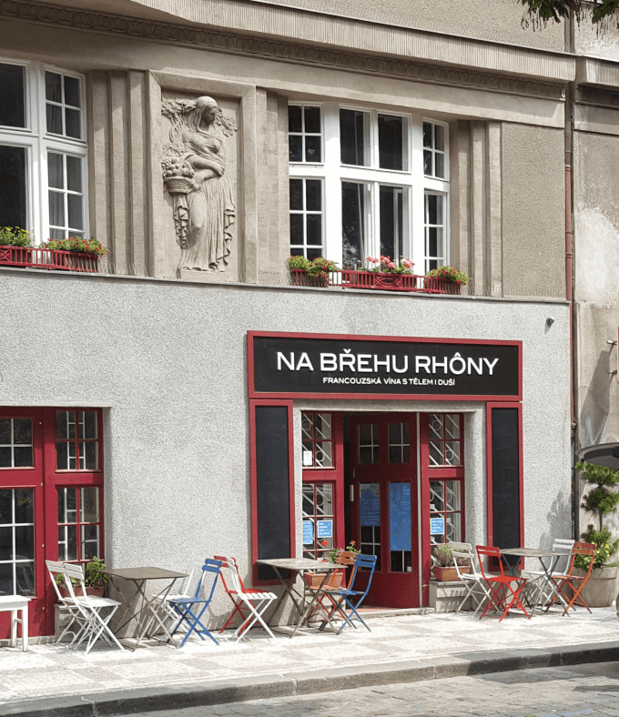 Na břehu Rhôny: French wine bar in Prague