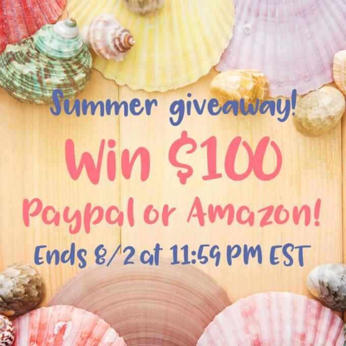 $100 Summer Giveaway